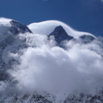 Broad Peak mit Wind